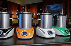 Pre-Programmed Cooking Appliances - The MasterSous Kitchen Cooking Appliance Prepares Foods Fast