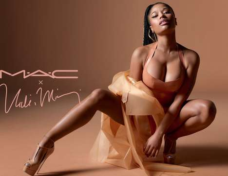 Rapper-Influenced Lipstick Launches - The New MAC Nicki Minaj Line Boasts a Range of Stunning Nudes
