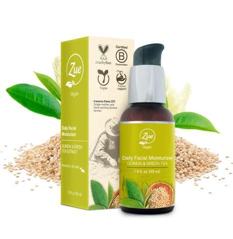 Quinoa-Based Skincare