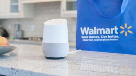 Voice Shopping Services - Walmart is Set to Offer Voice Shopping in Partnership with Google