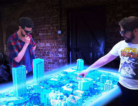 Interactive Hologram Tables