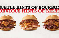 Liquor-Infused QSR Sandwiches - The Arby's Bourbon BBQ Sandwiches are Made with Kentucky Bourbon