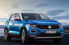 Sporty German CUVs - The Volkswagen T-Roc is a Stylish Entry-Level Crossover