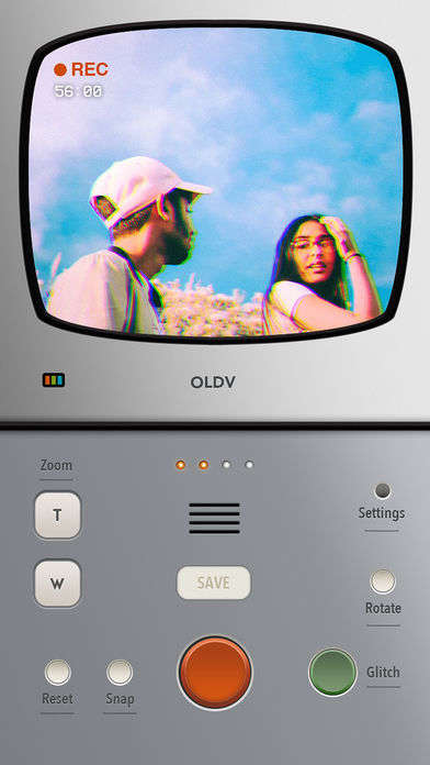 Retro Video Apps - The OLDV App Lets You Shoot Video Straight Out of the 1980s