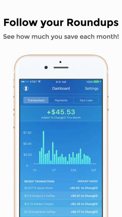Spare Change-Saving Loan Apps - The ChangEd App Uses Spare Change to Pay Off Student Loans