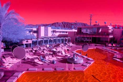 Infrared California Landscape Photography - Kate Ballis' Project Features the State in a Surreal Way