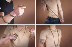 Unisex Self-Defense Jewelry