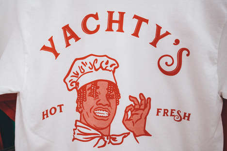 Yachty's Pizzeria is a Pop-Up Showcasing the Star's New Merchandise