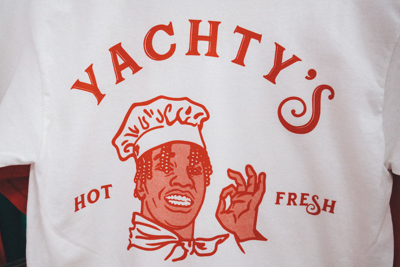 Pizzeria-Themed Rapper Apparel