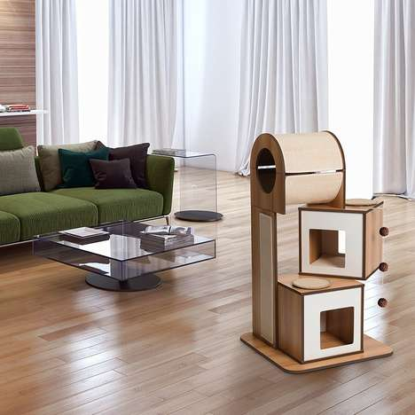 Design-Conscious Pet Furniture