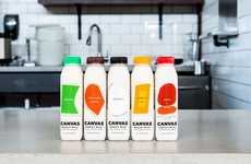Sustainable Grain-Based Beverages - The Canvas Collection is a Series of Beverages Based in Barley