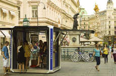 Modular Eco Activation Kiosks