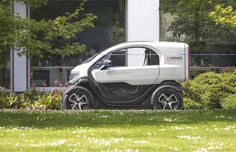 Compact Delivery E-Vehicles - The DELIVER-E Looks to the Future of Delivery in Urban Centers