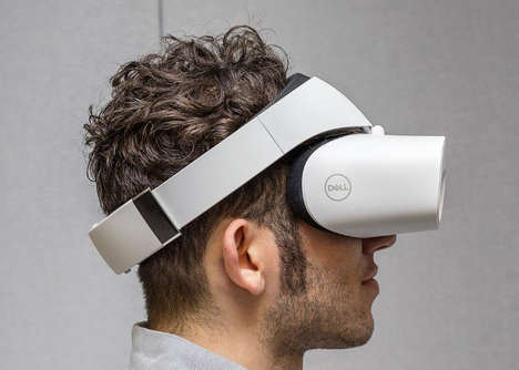 Inexpensive Branded VR Headsets - The Dell Visor will Launch in October at a Cost of $350