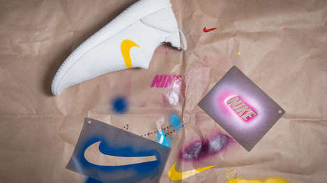 Top 45 Art Trends in September - From Sneaker Stencil Kits to Intentionally Ugly Tattoos