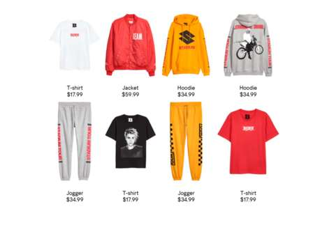 Repurposed Popstar Streetwear - H&M Will Retail Justin Bieber's Leftover Stadium Merchandise