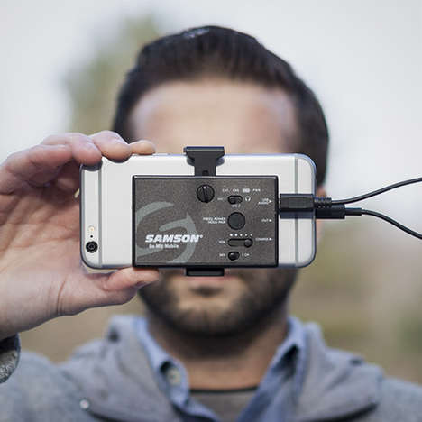 Portable Podcast Microphones - The 'Samson Go Mic' Targets Smartphone Videographers