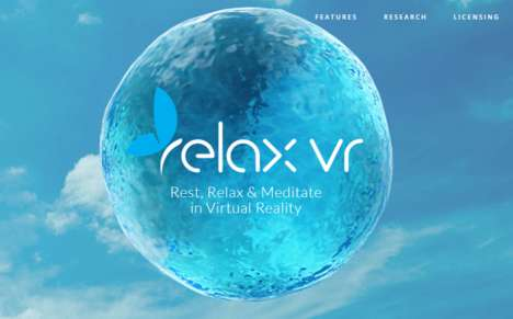 Stress-Reducing VR Experiences - Relax VR Offers Soothing Immersive Experiences