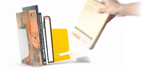Vibrant Tabletop Bookshelves