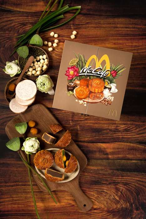 Fast Food Mooncakes
