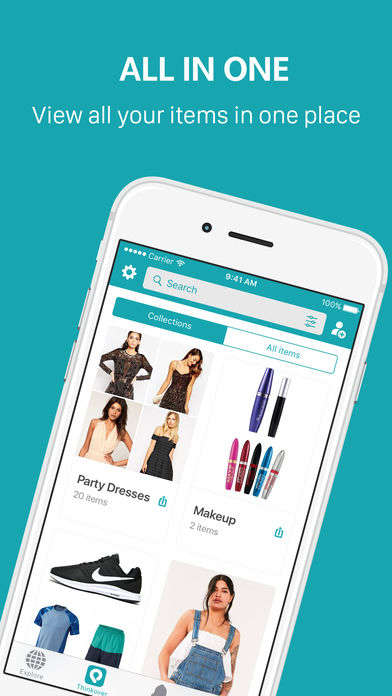 Drag-and-Drop Shopping Apps - 'Thinkover' Makes It Easy for Users to Save and Purchase Items on Sale