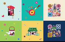 QR Tourism Campaigns - The Hong Kong Tourism Board is Sharing the City with Artfully Designed Codes