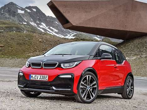 Sporty Eco Car Makeovers - The 2018 Bmw i3S is Designed to Be Fun to Drive