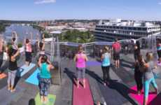 Scenic Hotel Yoga Classes - Washington DC's Watergate Hotel is Hosting Rooftop Yoga Classes