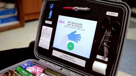 Smart First Aid Kits - Mobilize Rescue Systems' First Aid Kit Uses Algorithms for Triage