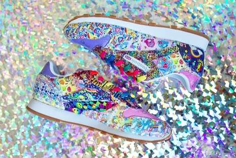 Psychedelic 90s-Inspired Sneakers