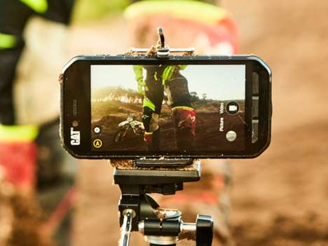 Rugged Construction-Focused Smartphones