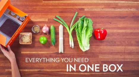 O2O Meal Kits - Meal Kits from Chef'd May Now Be Purchased at Gelson's