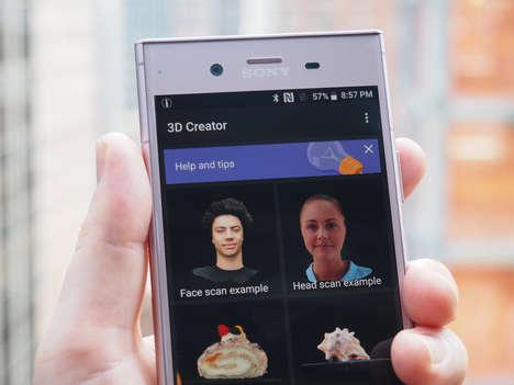 3D-Scanning Smartphones