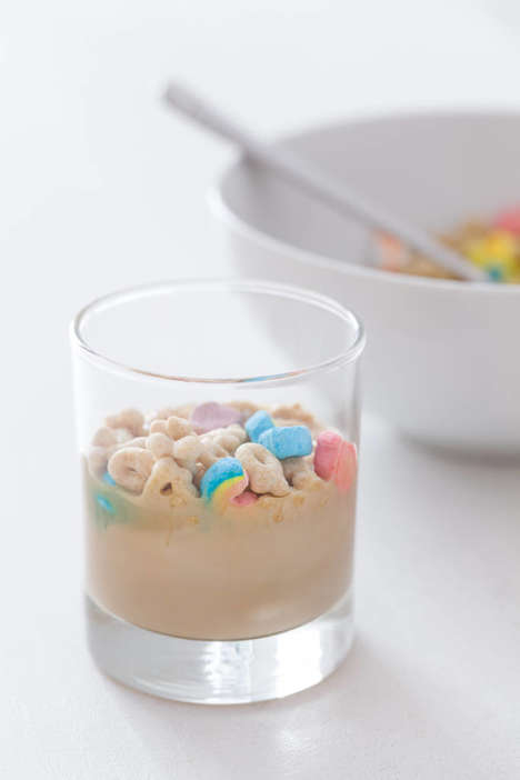 Breakfast Cereal Cocktails