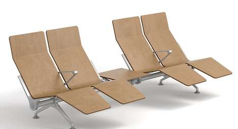 Reclining Airport Seating