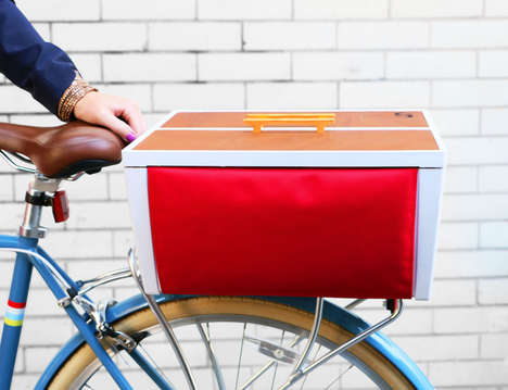 Lockable Bike Baskets - The 'Buca Boot' is Like a Car Trunk for Your Bike