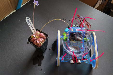 Autonomous Sun-Seeking Plant Bots - The 'Plantoid' Acts Like a Roomba for Your Indoor Plants