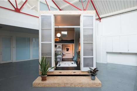 Temporary Housing Sheds - Affordable Accommodation Can Be Found in Vacant London Buildings