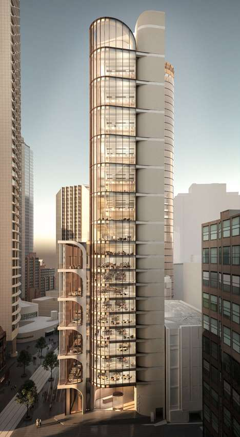 Millennial Office Buildings - Grimshaw has Designed a Sydney Office Tower with Millennials in Mind