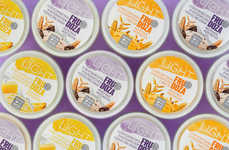 Individual Low-Calorie Ice Creams - The FRUDOZA Brand Offers Health-Conscious Snacks