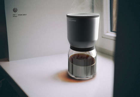 Aroma-Spreading Coffee Makers - 'Scenty Presso' Uses a Fan to Fill Homes with a Caffeinated Aroma