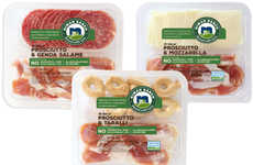 Prosciutto Snack Sets - Niman Ranch's Prosciutto Products are Packed with Taralli and Cheese