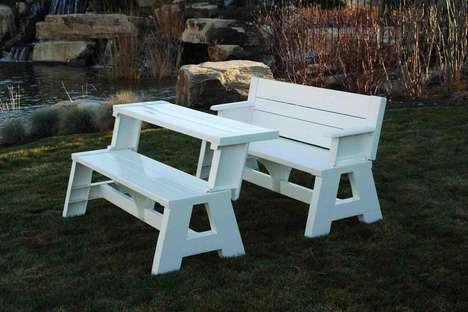 Transforming Outdoor Benches