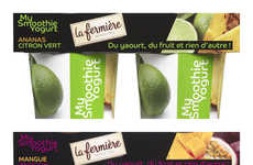Yogurt-Smoothie Cups - La Fermiere's 'My Smoothie Yogurt' Boasts a Hybrid Texture