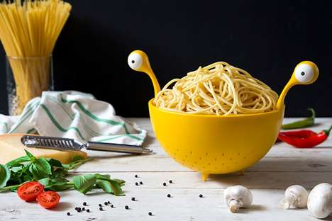 Monsterous Spaghetti Strainers