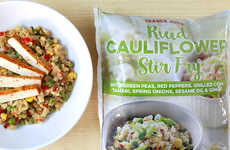 Cauliflower Stir Fry Kits - Trader Joe's 'Riced Cauliflower Stir Fry' is Healthy and Quick-Cooking