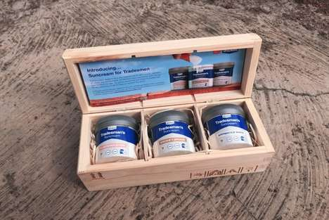 Paint-Like Sunscreen Packages