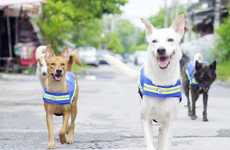Dog-Affixed Smart Vests