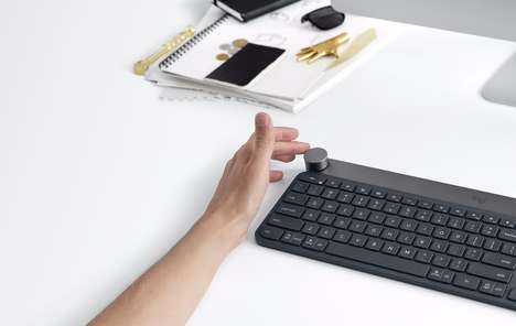 Hyper-Sensitive Wireless Keyboards - This Smart Wireless Keyboard Proactively Detects Software Tools