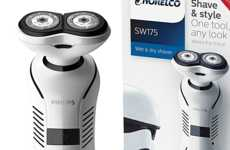 Sci-Fi Shavers - A Stormtrooper Electric Shaver Brings the Force to the Daily Duty of Grooming
